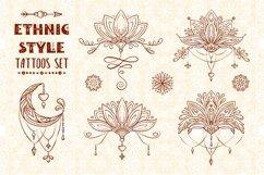 Ethnic style tatoos set Product Image 1