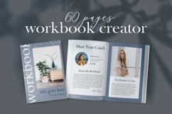 Workbook Canva Template, 60 Pages Ebook Template Lead Magnet Product Image 4