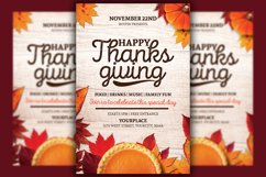 Thanksgiving Flyer Template Product Image 1