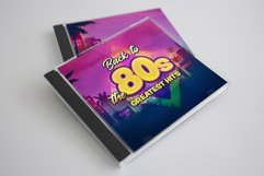 80s Retro Watercolor backgrounds. Product Image 4