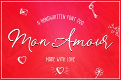 Mon Amour Font Duo Product Image 1