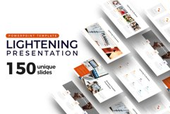 Lightening of Business Presentation Template Product Image 1