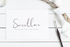 Sweet Yell - A Fun Handwritting Product Image 4