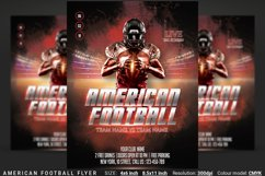 American Football Flyer And Poster Product Image 1