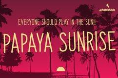 Papaya Sunrise Product Image 1
