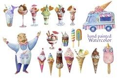 Ise cream clipart,dessert clip art Product Image 1