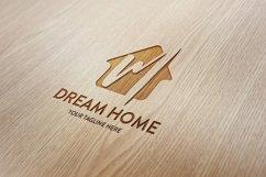 M letter house logo Product Image 2