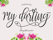 My Darling Script  Bonus Product Image 1