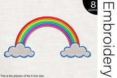 Rainbow - Embroidery Files - 1484e Product Image 1