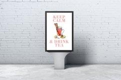 Watercolor tea vector set Product Image 2