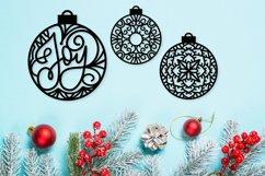 Christmas Ornament Dingbat Font Product Image 3