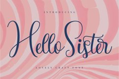 Hello Sister Product Image 1