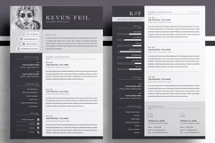 Professional Resume / CV Template Product Image 2