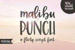 Malibu Punch, a flirty brush font Product Image 1