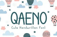 Qaeno - Handwritten Font Product Image 1