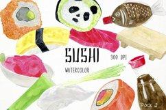 Sushi Clipart Sushi Clip Art, Sushi Graphics, Sushi PNG Product Image 1