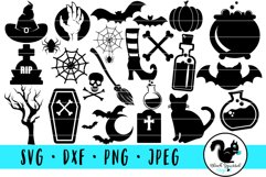 Halloween Spooky Graphic SVG Bundle Product Image 1