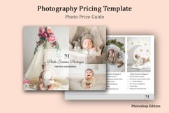Newborn Photography Pricing Template, Photo Price Guide Product Image 1