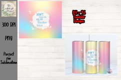 Watercolor with Paint Splash, Skinny Tumbler Product Image 1