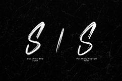 Polandic SVG Brush Font Product Image 6