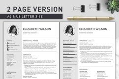 Creative Resume Template, CV Template, Resume Template Word Product Image 4