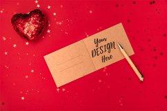 Romantic card, invitation mockup Product Image 1