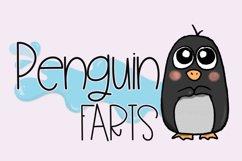 Penguin Farts - A Fun Handwritten Font Product Image 1