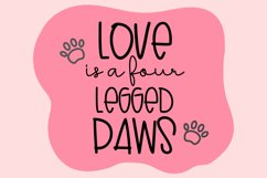 Lovely Puppy - Font duo with bonus Product Image 5