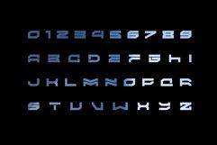 WARP - A modern scifi font Product Image 4