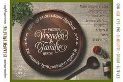 Vrienden & Familie - Mooiste Herinneringen Rond de Tafel SVG Product Image 2
