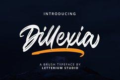 Dillexia - Brush Script Product Image 1