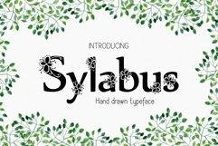 Sylabus font Product Image 1