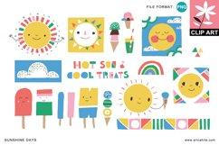 Sunshine Days: Clip Art (PNG)