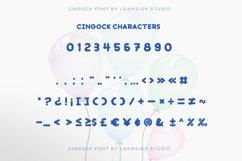 Cingock Font Product Image 6