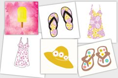 Summer Vacation Clipart Product Image 3