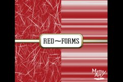 Red Forms - 10 Digital Papers/Backgrounds Product Image 4