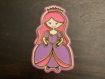 3D Layered SVG for Kids Crafts Princess Product Image 3