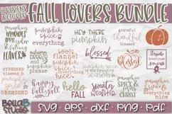 Fall SVG Bundle, Autumn SVG Bundle, Fall Quotes SVG Bundle Product Image 2