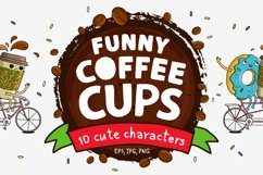 Funny Coffee Cups  Product Image 1