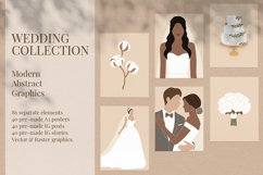 Wedding Collection. Modern Abstract Graphics. Product Image 1
