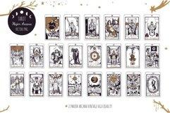 Tarot cards Major Arcana collection Product Image 1