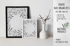 Frame oak branches ECO BIO NATURAL product Product Image 1