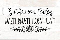 Bathroom Signs, Bathroom svg, Bathroom quotes Product Image 1
