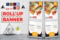 Restaurant Roll Up Banner Vol-02 Product Image 1