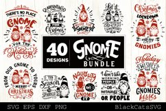 Christmas Gnomes SVG bundle Gnome bundle SVG 40 designs Product Image 4