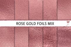 Rose Gold Foils Mix Product Image 1