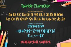 Twinkie - cute & playful font Product Image 5