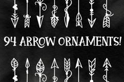 Arrow Font - Ornaments  Product Image 2