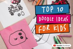 Happy Hints - Kids Doodle Handwriting Font Product Image 5