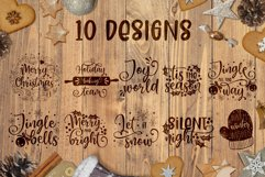 Christmas quotes SVG | Cut files | SVG PNG JPG PDF DXF Product Image 4